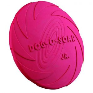 Trixie drijvende frisbee van rubber