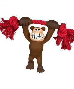 Trixie latex aap met katoenknoop