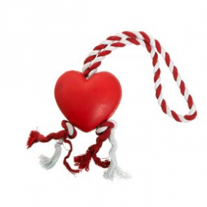 Karlie rubberhart met touw