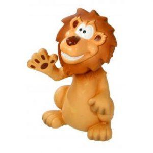Karlie latex speelgoed met piep leeuw